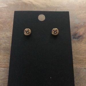 Jewelry - Taurus Stud Earrings 💕 3 for $15 💕 BOUTIQUE